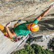 Jorg Verhoeven en Dihedral Wall de Yosemite  (Foto: Dustin Moore)