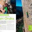 Artículo: Adam Ondra repite el Dawn Wall en la revista Escalar nº 105.  ()