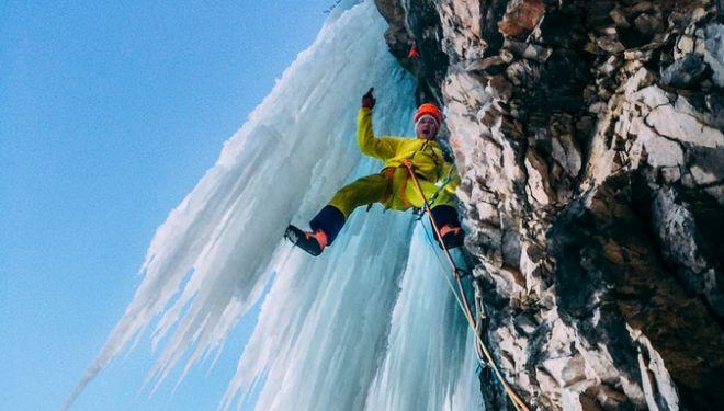 Michi Wohlleben en Die hard en el Tirol austriaco  (Col. M. Wohlleben)
