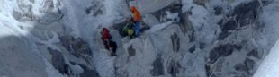 David Lama en su ascenso al Lunag Ri  ()