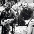 Krzysztof Wielicki y Jerzy Kukuczka descansando tras su descenso de la cumbre del Kangchenjunga en invierno (1986).  (Col. Krzysztof Wielicki)