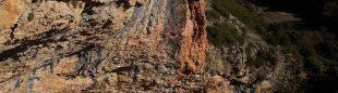 Adam Ondra en Neanderthal 9b en Santa Linya