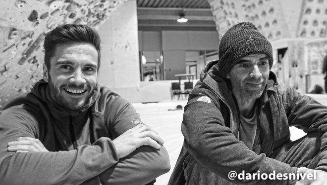 Dani Andrada y Edu Martín comparten ideas sobre la escalada
