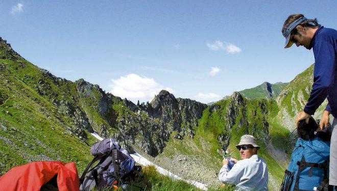 Uno de los muchos collados de los Alpes Transilvanos