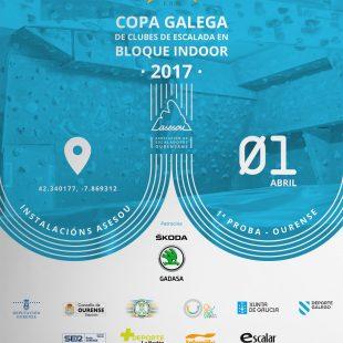 Cartel de la Copa Galega de Bloque de Clubes 2017  ()