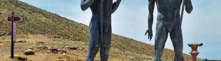 Mirador Corrales de Guize en el Camino Natural de Fuerteventura  (IGNACIO MONTESDEOCA)
