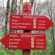 Poste de dirección en el Camino Natural Senda del Oso  ()