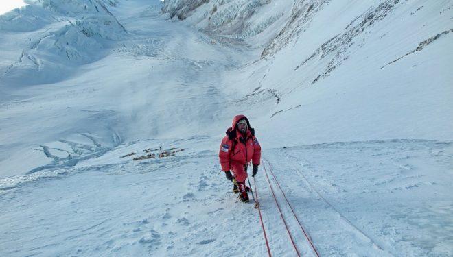Ferran Latorre en el Everest 2017  ()