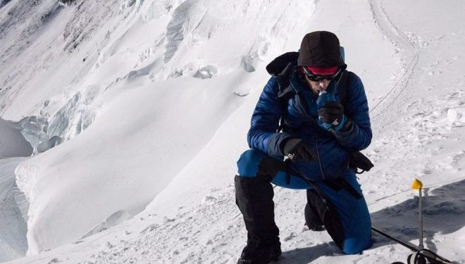 Kilian Jornet en el Everest  (Foto: Summits of my Life)