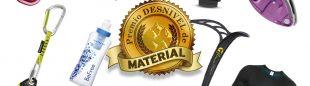 Los 14 ganadores en el IX Premio Desnivel de Material de Desnivel 2017  ()