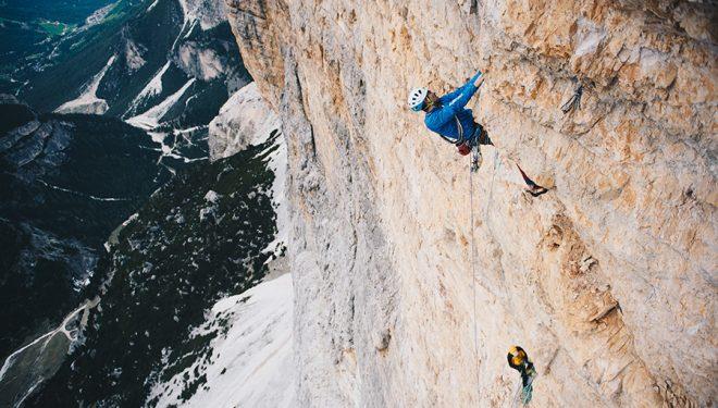 Nicola Tondini en la liberación de Non abbiate paura di sognare (730 m