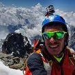Emanuele Andreozzi en el Picco Luigi Amedeo (4.470 m)  (Col. E. Andreozzi)