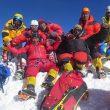 Mingma Gyalje Sherpa y su equipo