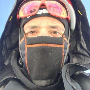 Alex Txikon durante la aclimatación previa al intento ascensión al Everest invernal sin oxígeno (2017)  (© Alex Txikon)