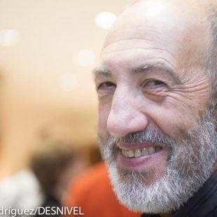 Juanjo San Sebastián en Bilbao Mendi Film Festival 2013.  (© Darío Rodríguez/DESNIVEL)
