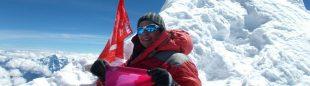 Lina Quesada asciende el Manaslu (8.163 m)