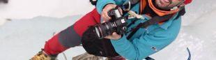 El cámara de altura Luis Miguel López.  (@Archivo Luis Miguel López)