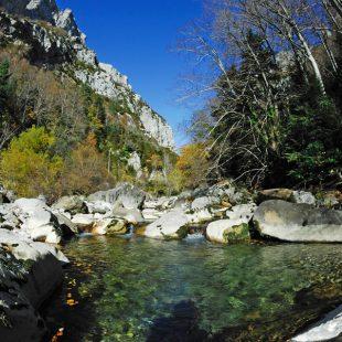 Fuente natural perteneciente a Hoz de Biniés