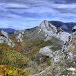 Alto del Pozarión y Peña Abismo desde el Pico Lampados