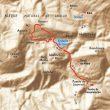Mapa de la zona de Bosque de Sarastarri