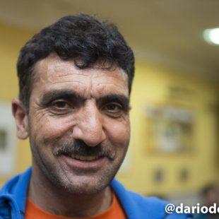 El alpinista pakistaní Ali Sadpara en diciembre 2016  (© Darío Rodríguez/DESNIVEL)