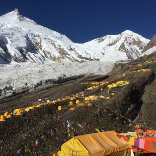 Campo base del Manaslu. Oct. 2017  (Xavi Arias)