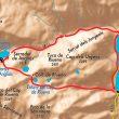 Mapa con la localización de Valles de Riueno y Salenques (Huesca)  (Bego Masdefiol)