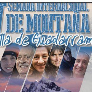 Cartel de la V Semana internacional de Montaña de ka Villa de Guadarrama (2017)  (@Organización Semana Montaña Guadarrama)