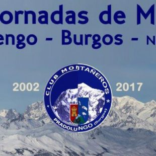 Cartel de las XVIII Jornadas de Montaña de Pradoluengo (Burgos)  (Club de Montañeros Pradoluengo)