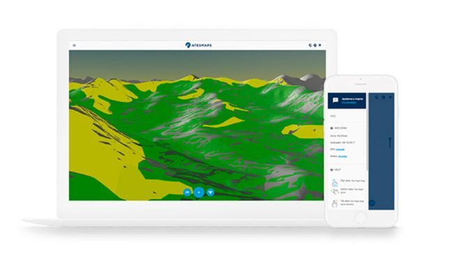 La nueva aplicación ATESMAPS  (atesmaps.com)