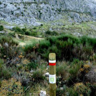 Señalización de la Gran Senda de Málaga  (Grandes Espacios)