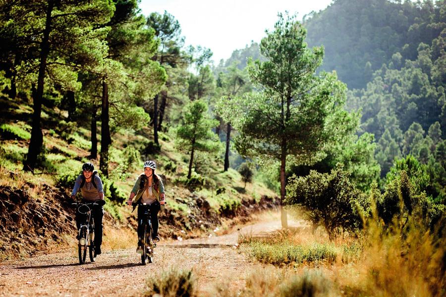 El Camino de la Cruz se puede hacer completamente en bicicleta