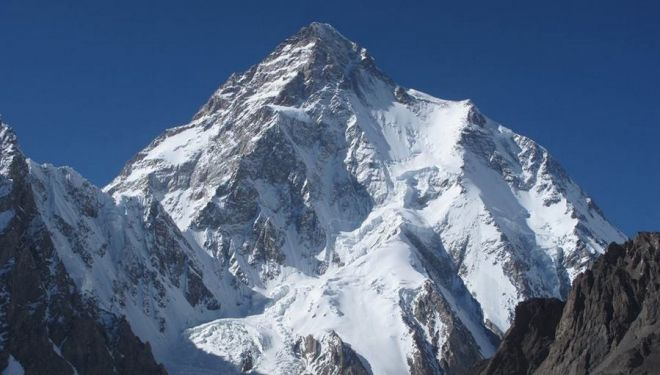 El K2 desde Concordia