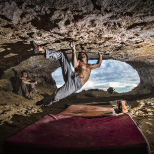 "Chris Sharma en ""Catalan Witness the Fitness"", C"