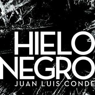 Portada del libro: Hielo Negro, por Juan Luis Conde