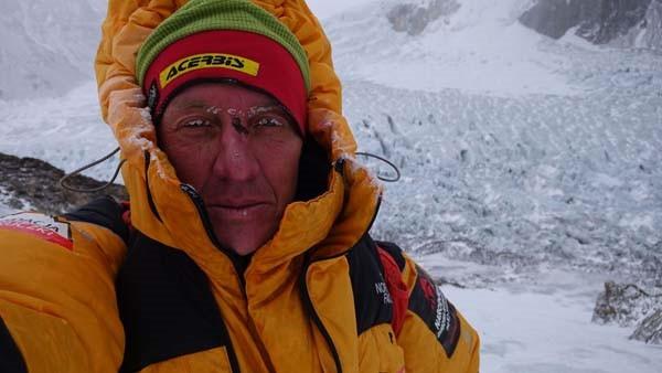 Denis Urubko en el K2 invernal (febrero 2018)