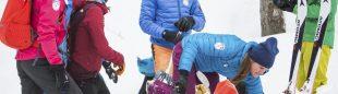 Los miembros de Red Bull Der Lange Weg 2018 que intentarán batir récord 1971 travesía más larga esquí montaña de los Alpes.
