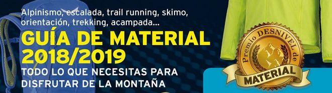 Especial Material 2018/2019. Guía de material de montaña Desnivel