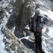Oriol Baró en el Gasherbrum IV en su intento de 2006 junto a Jordi Corominas.