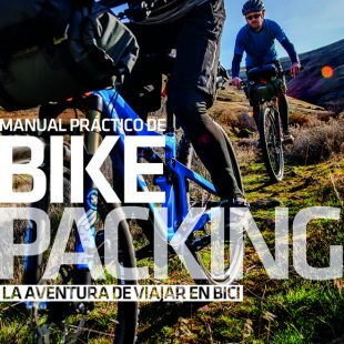 Portada Manual Práctico de BIKE PACKING. La aventura de viajar en bici