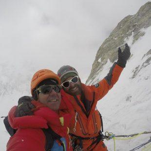 Oriol Baró, Marc Torralles, Roger Cararach e Iker Madoztuvieron que abandonar su intento al inescalado espolón sur Gasherbrum IV a 7.000 metros debido al mal tiempo