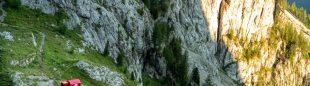 Proyecto Pinnacle de The North Face, con una tienda pop-un a 2.100 m de altura, en Dolomitas