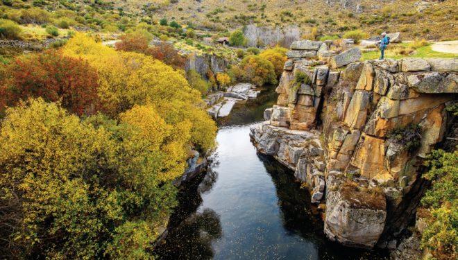 Ribera del Alto Tormes en la Sierra de Gredos, Ávila