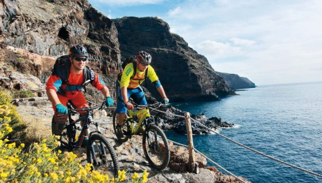 Ciclismo sostenible en La Palma