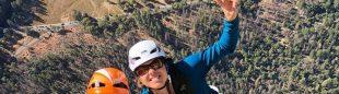 Lynn Hill y Nina Caprez en The nose (El Capitan)