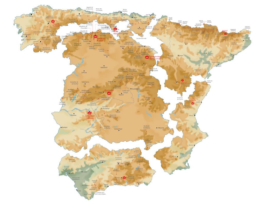 Mapa de otoño