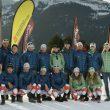 miembros y equipo técnico de la Selección Catalana de Esquí de Montaña.
