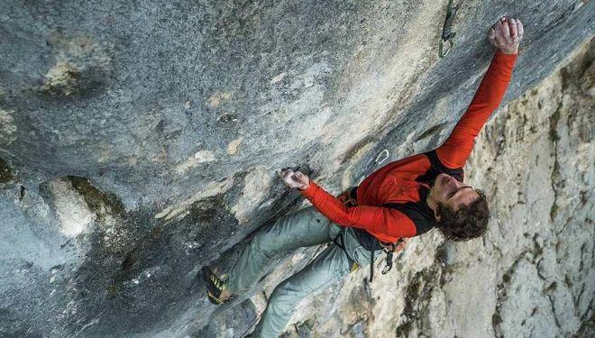 Adam Ondra en 'Highline' 9a+/b de Bosnia