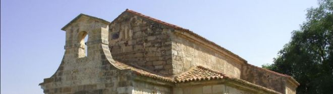 Basílica de San Juan Bautista. Ruta del románico en el Canal de Castilla