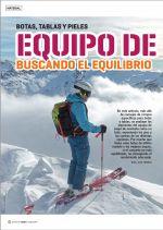Desnivel 390 Especial Esquí de montaña. Artículo Equipo de skimo